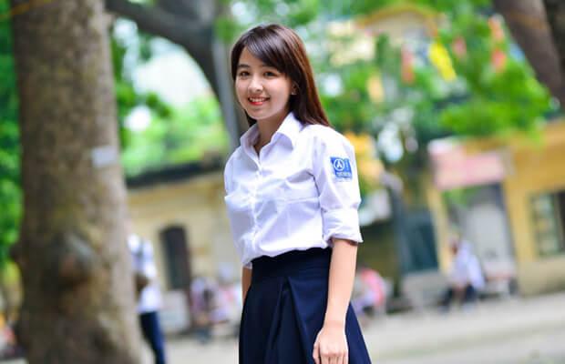 anh girl xinh hoc sinh cap 3 rang khenh - Suy nghĩ về việc tu dưỡng và học tập của bản thân qua câu nói: Mọi phẩm chất của đức hạnh là ở trong hành động - Văn mẫu lớp 12